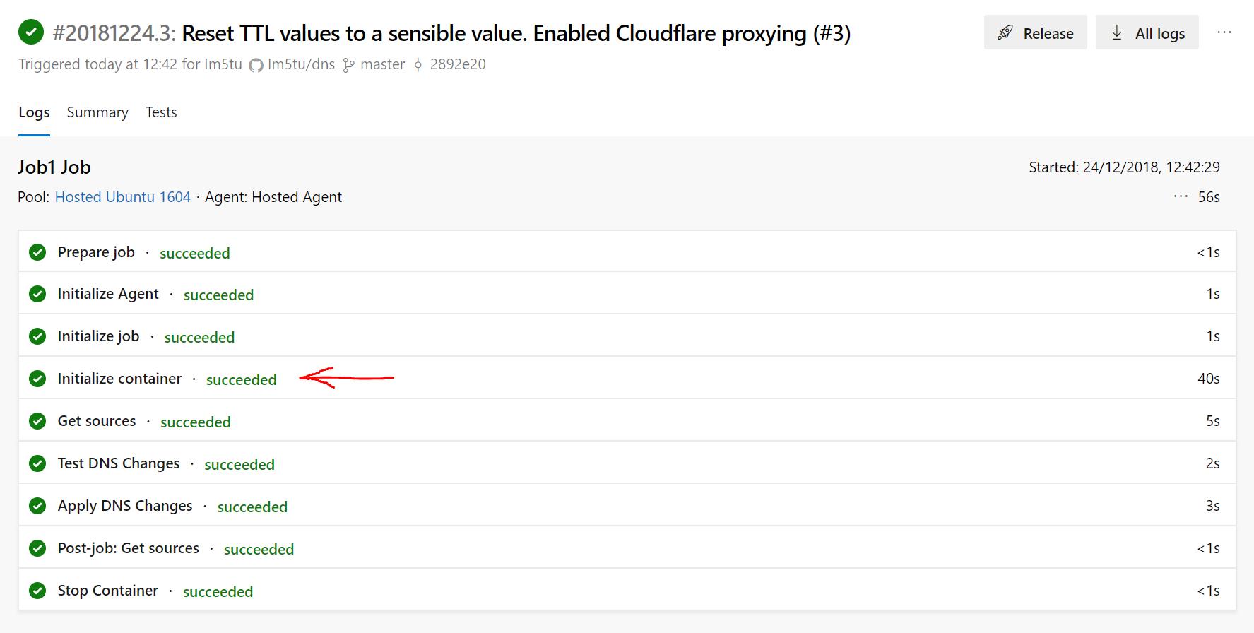 Building a custom build agent image with Docker and Azure DevOps